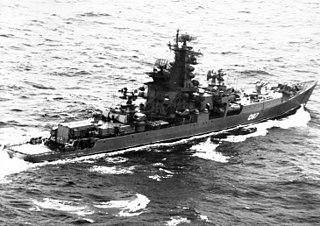 Soviet cruiser <i>Vitse-Admiral Drozd</i>