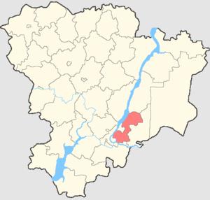 Sredneakhtubinsky District - Image: Volgogradskaya oblast Sredneakhtubinsky rayon