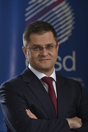 United Nations Secretary-General selection, 2016 - Image: Vuk Jeremic cirsd 2014
