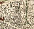 Vuldersreitje Brugge op kaart Marcus Gerardus.jpg