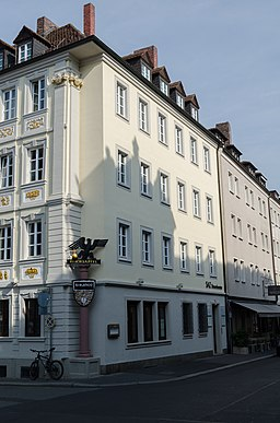 Karmelitenstraße in Würzburg