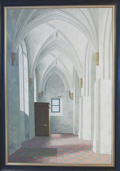 File:WLANL - petertf - Zuidbeuk van de kerk te Loppersum, Henk Helmantel (1969).jpg