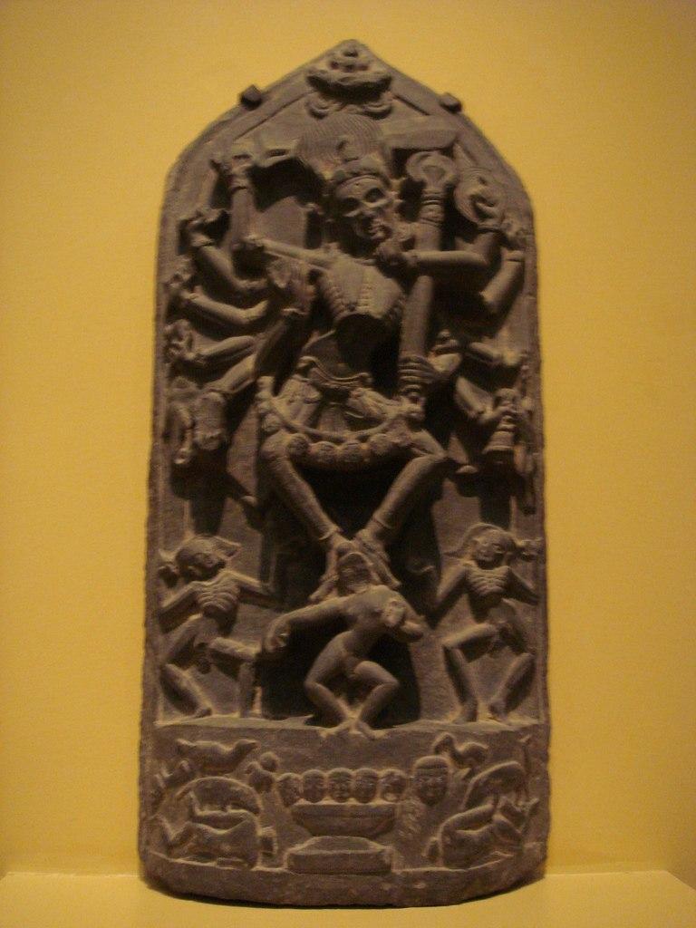 WLA lacma Hindu Goddess Chamunda West Bengal