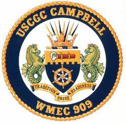 WMEC-909 Coat of Arms