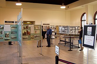 Western Railway Museum - A view of the Western Railway Museum gallery