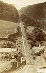 The Incline, lying between Brendon Hill and Comberow, and the remains of Combe Row Station