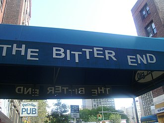 The Bitter End - Awning