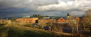 Washington State University Vancouver - WSU Vancouver in January 2014.