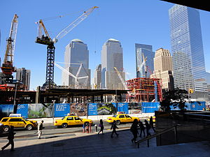 The WTC Site as of March 2010