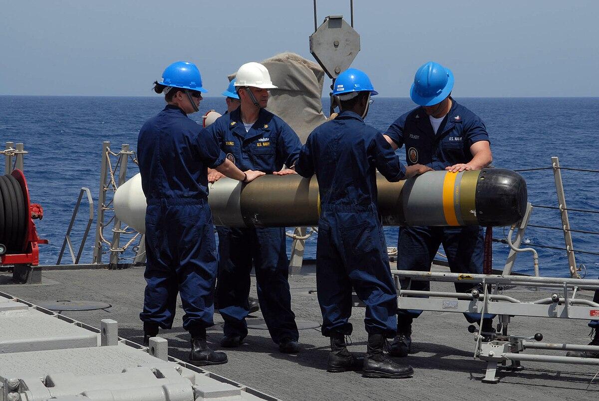 Mark 54 Mako Lightweight Torpedo Wikipedia
