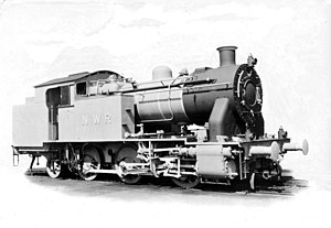 Vulcan Foundry works photo of NWR no. 301.