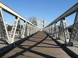 Waco Suspension Bridge - The Waco Suspension Bridge
