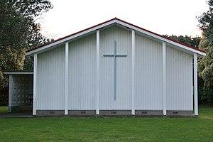 Wainui Beach - Wainui Church