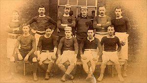 Wales national football team - The Wales side of 1887–88.