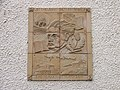 Wall plaque in Biggar - geograph.org.uk - 714598.jpg