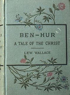 <i>Ben-Hur: A Tale of the Christ</i> 1888 novel by Lew Wallace