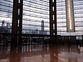 Wan Chai North 灣仔北 HKCEC interior 香港會展 Convention Road Expo Drive exit glass wall window January 2019 SSG 06.jpg