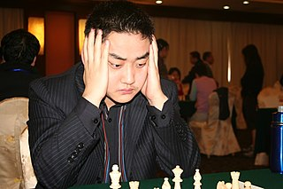 Wang Yue Chinese chess player
