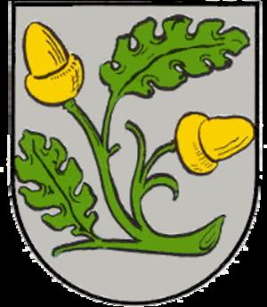Großniedesheim - Image: Wappen Grossniedesheim