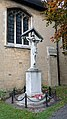 War Memorial And Railings 1 Metre South Of Church Of St Mark, Nottingham Rd (2).jpg