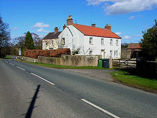 Warlaby Human settlement in England