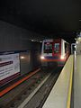 Warsaw Metro, Alstom Metropolis, Ratusz Arsenal.jpg
