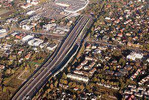 Expressway S2 (Poland) - Puławska Exit