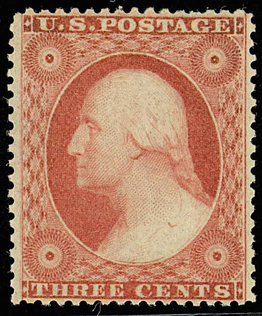 Washington 1851 Issue-3c
