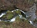 Wasserfall in Großbartloff von oben fotografiert.jpg