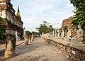Wat Yai Chai Mongkon - Alignement.jpg