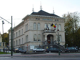 Watermael-Boitsfort - Image: Watermael Boitsfort Town Hall