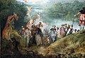 Watteau, pellegrinaggio all'isola di citera, 1717, 03.JPG