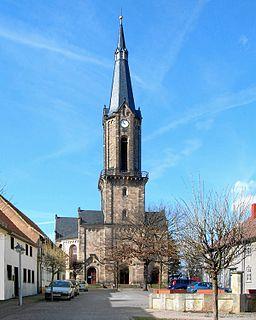 Günthersleben-Wechmar part of Drei Gleichen in Thuringia, Germany