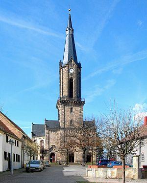 Günthersleben-Wechmar - Image: Wechmar Dorfkirche