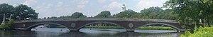 John W. Weeks Bridge - Image: Weeks footbridge panorama