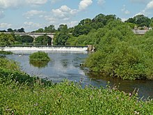 Weir on the River Wharfe, Tadcaster (5906293514).jpg
