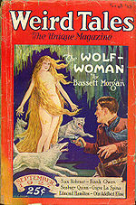 Weird Tales cover image for September 1927