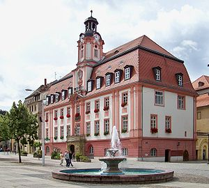 Weißenfels - Weißenfels baroque Town hall