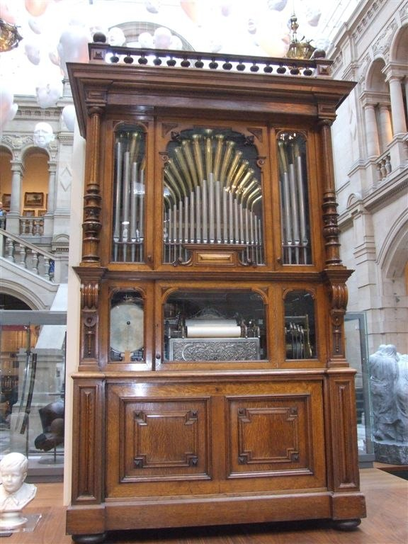 Welte Cottage Orchestrion Style 3, Kelvingrove museum, Glasgow