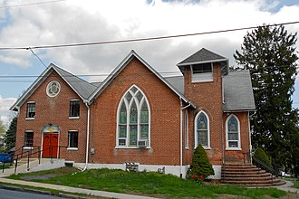 West Grove, Pennsylvania - Image: West Grove Chesco PA U Methodist
