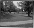 West half of cemetery - view looking southwest - Beech Grove Cemetery, 353 Kilgore Avenue, Muncie, Delaware County, IN HABS IND,18-MUNCI,11-4.tif