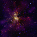 Westerlund 2 in X-rays (false color).jpg