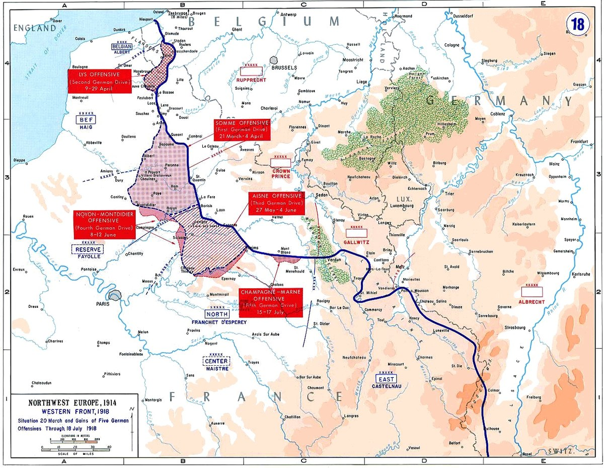 Spring Offensive Wikipedia - West germany resources map