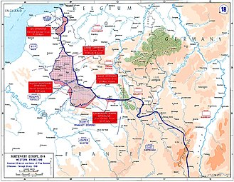 Operation Michael - Image: Western front 1918 german