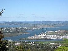Vista di Whangārei da Parahaki.jpg