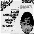Why Announce Your Marriage (1922) - 1.jpg