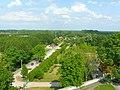 Widok z wieży klasztornej w Wigrach - panoramio.jpg