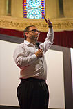 Wiki Conference India 2011-Jimmy Wales 5.jpg