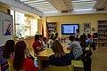 Wikimedians of Albanian Language User Group - Wikidata Birthday Celebration 2018 (9).jpg