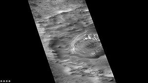 Suess (Martian crater) - Suess (Martian crater), as seen by CTX camera (on Mars Reconnaissance Orbiter)
